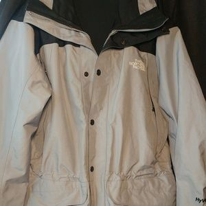 North Face hooded jacket